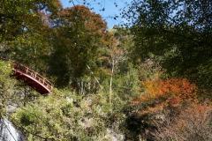 赤い太鼓橋付近