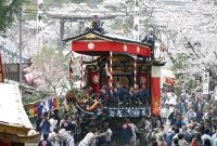 八百津春祭りタクシー